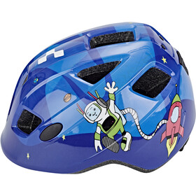 Cube Pebble Casco Niños, blue universe